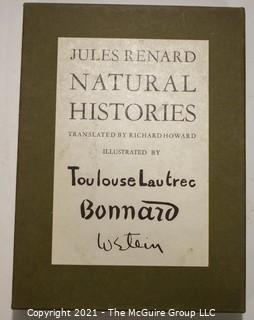 Books: Collection of 6 books on the subject of the natural world