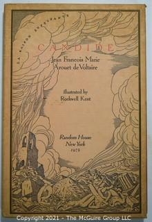 "Book: ""Candide"", illustrated by Rockwell Kent"