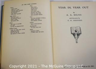 """Book: """"Year In. Year Out"""" by A.A. Milne"""