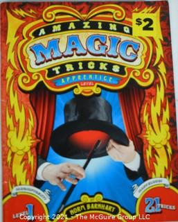 Books: Collection of 4 books including magic