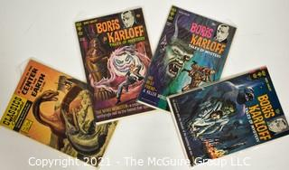 Collection of 4 vintage comic books