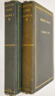 """Books: """"British Essays; 2 Volumes"""""""