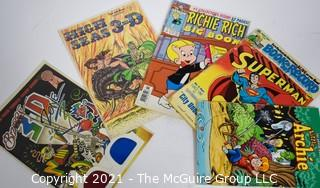 Collection of 5 Vintage Comic Books