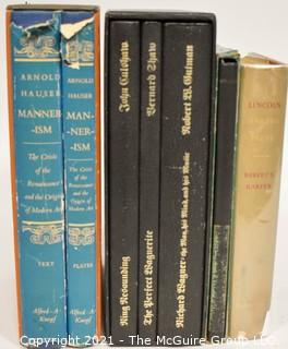 "Books: Collection of 7 books including ""Lincoln"" by Robert S. Harper"