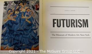 "Books: Collection of 4 books including ""Futurism"" publisshed by the Museum of Modern Art, NY circa 1960's"