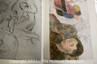 """Book: """"Raphael Soyer: Drawings and Watercolors"""" by Joseph K. Foster; Signed by the artist; 1969"""