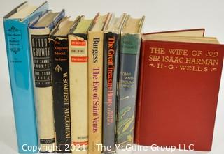 "Books: Collection of 8 books including ""Pomp and Circumstance"" by Noel Coward"