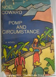 """Books: Collection of 8 books including """"Pomp and Circumstance"""" by Noel Coward"""
