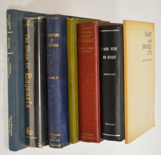 "Books: Collection of 7 books including ""I rode with Jeb Stuart"" by H B McClennan"