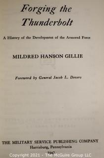 """Books: Collection of 7 books including """"Forging the Thunderbolt"""" by Mildred Hanson Gillie"""