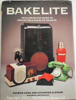 "Book: ""Bakelite - An Illustrated Guide To Collectable Bakelite"" By Patrick Cook, 1982."