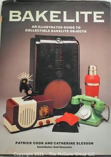 """Book: """"Bakelite - An Illustrated Guide To Collectable Bakelite"""" By Patrick Cook, 1982."""