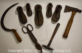 Group of Vintage Hand Tools