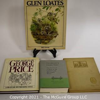 """Books: Collection of 4 books including """"The Art of Glen Loates"""""""