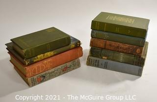 "Books: Collection of 9 books including ""Ships That Pass in the Night"" by Beatrice Harraden"
