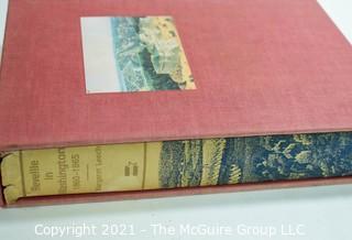 """Book: """"Reveille in Washington, 1860-1865""""; in slip case"""