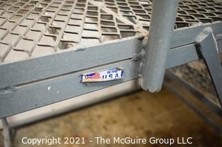 "Tilt and Roll 3 Step  Safety Ladder; 26W x 43D x 60""T"