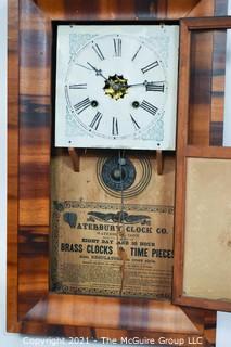 """Waterbury Clock Co. Wall Clock; 15W x 26T x 4 1/2""""D"""