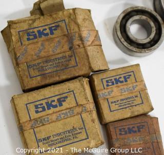 Vintage Hardware Includes Bearings, Faucet, Seat Reamer, Gauges, Etc