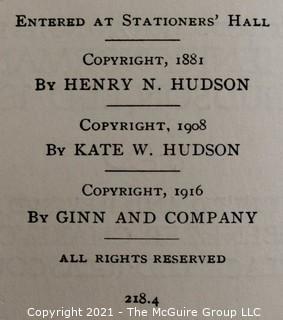 Seven (7) Vintage Books.