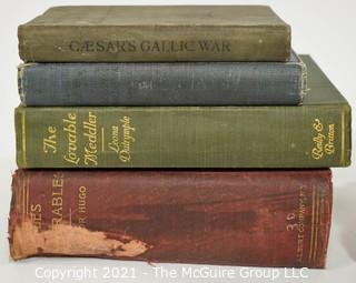 "Books: Collection of 12 books including ""Les Miserables"""