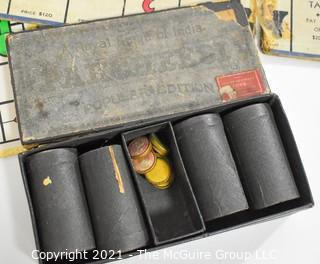 Vintage Board & Card Games Including Monopoly, Sorry, Parcheesee and Rook.