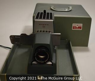 Argus Slide Projector in Case.
