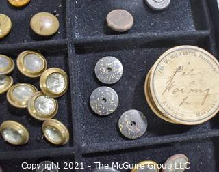 Collection of Vintage Buttons.
