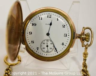 Gold Filled Elgin Pocket Watch; 17 Jewel Movement