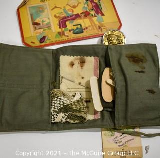 Collection of Vintage Sewing Accessories in original boxes.