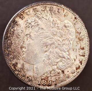 1897 Morgan Dollar