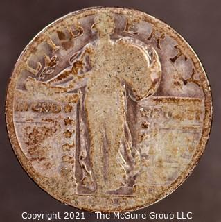 1929 Standing Liberty Silver Quarter
