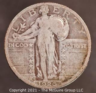 1926-S Standing Liberty Silver Quarter