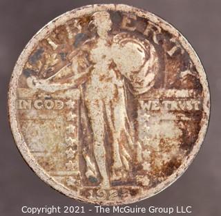 1928-S Standing Liberty Silver Quarter