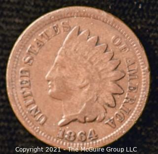 1864 Indian Head Penny