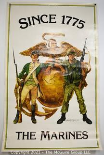 """Three (3) Marine Posters: """"Since 1775"""" & """"Fly With The Marines"""" See all photos"""
