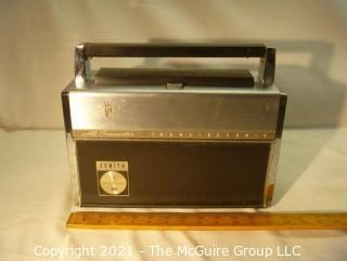 """Collectible: Radio: Zenith Model Royal """"3000-1"""" Trans-Oceanic Portable Multiband Radio (2) UPDATED 5/13/21 photos added"""