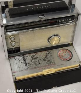 """Collectible: Radio: Zenith Model Royal """"3000-1"""" Trans-Oceanic Portable Multiband Radio (3)  UPDATED: 5/13/21 photos added"""