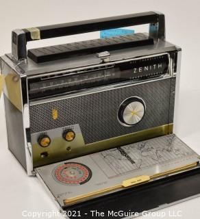 "Collectible: Radio: Zenith Model Royal ""1000-D"" Trans-Oceanic Portable Multiband Radio"