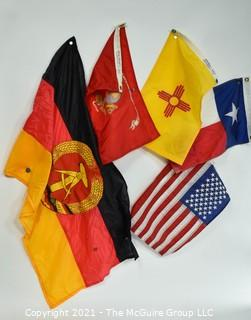 Collection of smaller flags (US and Intl.)