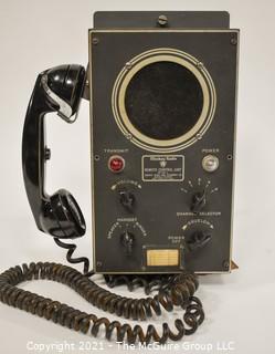 Mackay Radio Corp, Marine Remote Control Unit MR-299-2