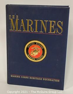 """Large Format Coffee Table Book - """"The Marines"""""""