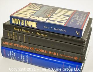 Books: Historical: WWI; Truman; Navy, etc