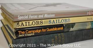 Books: Historical: Military: Guadalcanal - Jane's Aircraft '63-64, etc