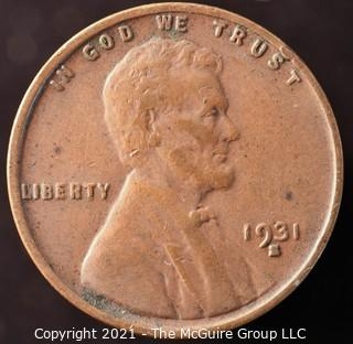 1931-S Lincoln Penny