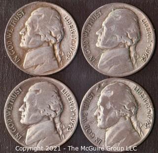 Jefferson Silver War Nickels