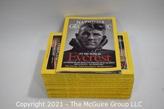 Magazines: National Geographic - various editions