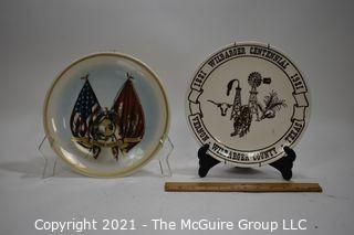 Collectible: commemorative Plates: Marines and Centennial