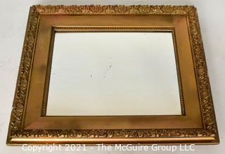 Wall Mirror: Vintage Gilt Frame 24 x 24