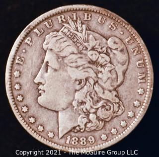 Numismatic: Morgan Silver Dollar 1889-O